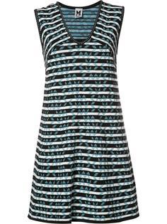 полосатое платье шифт M Missoni