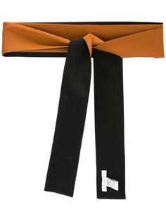 двухцветный шарф Diane Von Furstenberg
