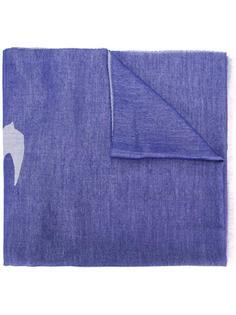 шарф с рисунком Swallow McQ Alexander McQueen