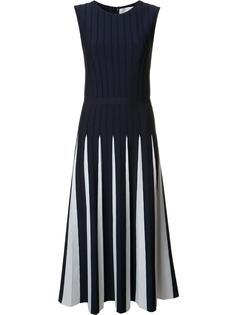 pleated knit dress Carolina Herrera
