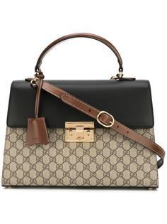 сумка-тоут Padlock GG Supreme Gucci