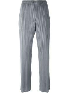 брюки прямого кроя  Pleats Please By Issey Miyake