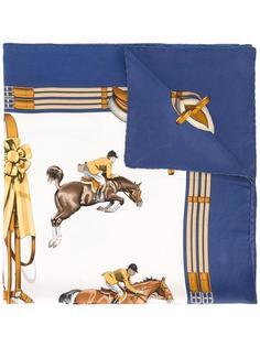 horse print scarf  Hermès Vintage