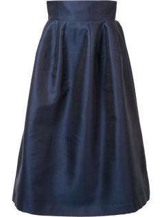 high-rise full skirt Carolina Herrera