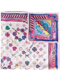 printed scarf  Louis Vuitton Vintage