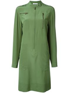 платье с карманами на молниях Tomas Maier