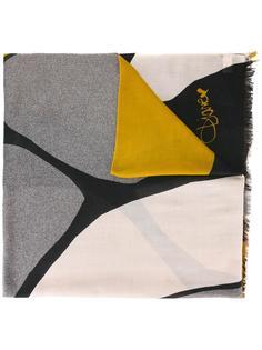 шарф с абстрактным принтом Diane Von Furstenberg