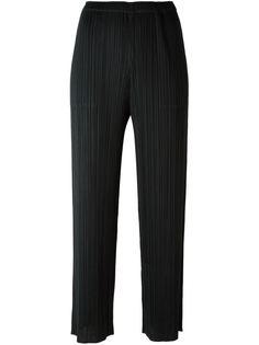 гофрированные брюки прямого кроя  Pleats Please By Issey Miyake