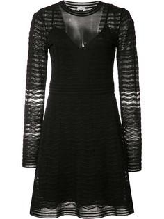 платье с плиссировкой M Missoni