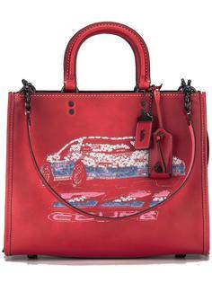 сумка-тоут с отделкой пайетками Coach