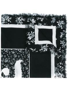 шарф с цветочным рисунком McQ Alexander McQueen