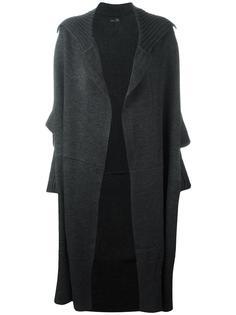 объемный кардиган-пальто Y's