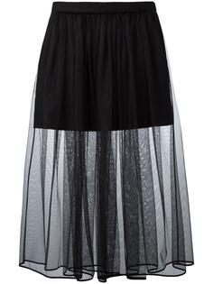 плиссированная юбка Givenchy