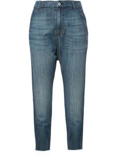 укороченные джинсы с заниженной проймой Nili Lotan
