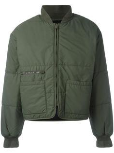 дутая куртка бомбер Yeezy