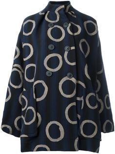 объемное двубортное пальто Vivienne Westwood Anglomania