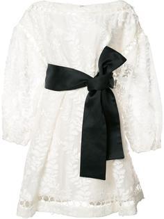 платье со сборкой Zimmermann