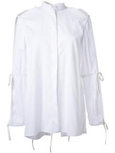 рубашка с завязками на рукавах Dion Lee