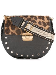 сумка через плечо с леопардовым узором Furla