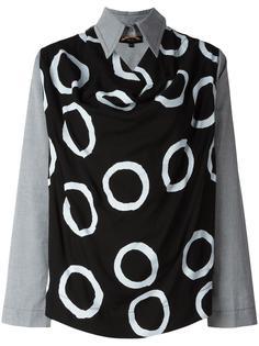блузка с заостренным воротником Vivienne Westwood Anglomania