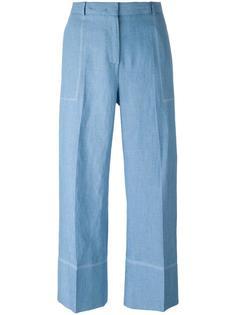 укороченные широкие брюки Ermanno Scervino