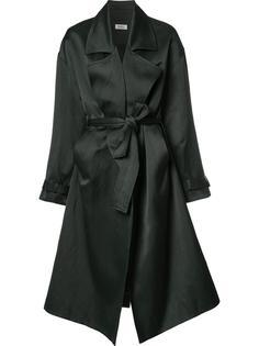 пальто свободного кроя со шнуровкой Nomia