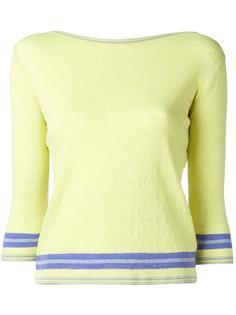 свитер с рукавами три четверти Ermanno Scervino