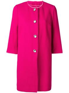 пальто с декорированными пуговицами Ermanno Scervino