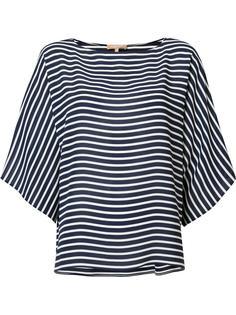 полосатая блузка Michael Kors
