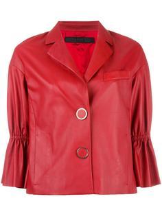 куртка с рукавами три четверти и оборками Drome