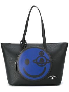 сумка-тоут со смайлом Vivienne Westwood Anglomania