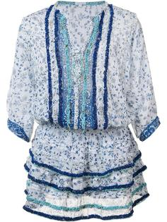 платье с рюшами Poupette St Barth