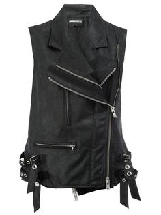 байкерская куртка без рукавов Ann Demeulemeester