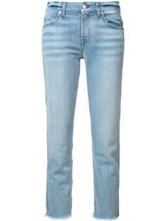 джинсы с необработанными краями 7 For All Mankind