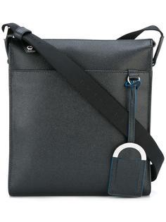 сумка-почтальонка с передним карманом Bulgari
