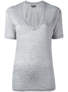 футболка с V-образным вырезом Isabel Marant