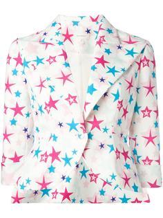 star print blazer Delpozo