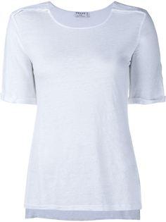 льняная футболка  Frame Denim