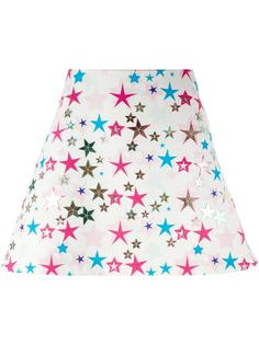 star print skirt Delpozo