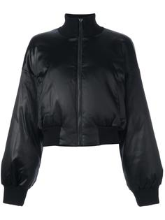 атласная куртка-бомбер DKNY