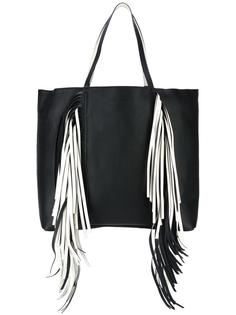 сумка-тоут с бахромой  Sara Battaglia