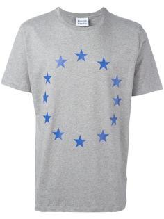 футболка со звездами в круге Études