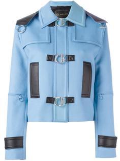 куртка с контрастной окантовкой  Versace