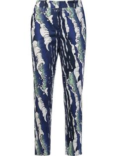 waves print trousers Alena Akhmadullina