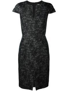 платье-шифт с короткими рукавами Paule Ka