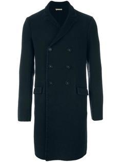 двубортное пальто Massimo Alba
