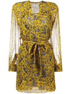 платье с запахом и цветочным принтом Isabel Marant Étoile