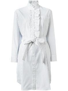 платье-рубашка в полоску Burberry