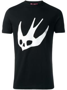 футболка с принтом ласточки McQ Alexander McQueen