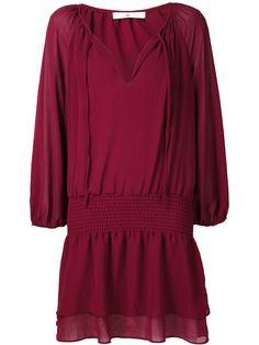 платье с V-образным вырезом 321